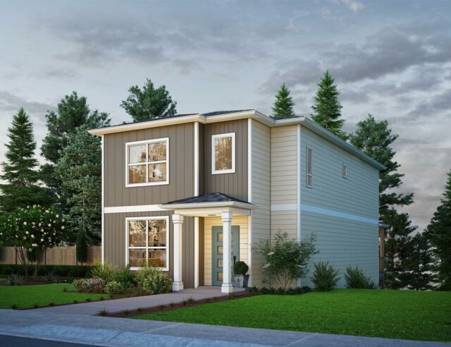 We have a new floor plan coming! Meet the 2070. 👋Available soon at our East Mountain community in Eugene, OR, this plan comes in 2 exterior styles. Which do you prefer? Contact our site sales agent to learn more details - link in bio. 