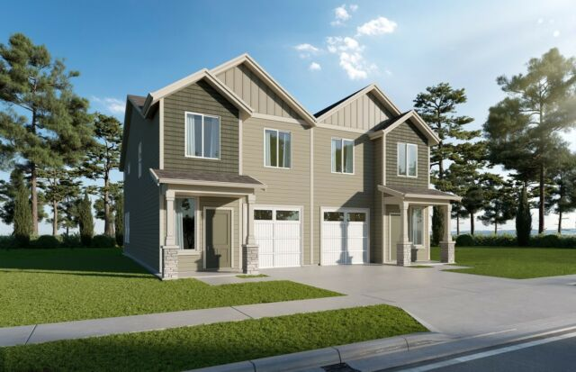 Did you know we have townhomes available in Corvallis, OR? Here's a peek at the sweet 1679 sq ft. plan at Ponderosa Ridge. Learn more about this community at the link in bio.  
