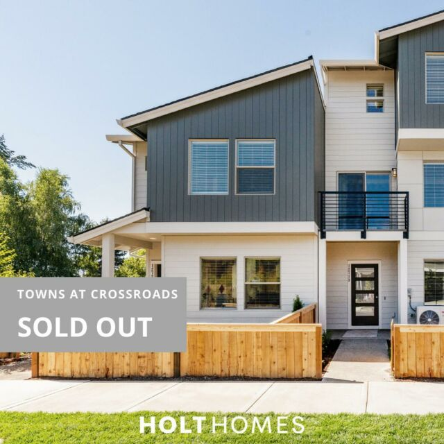 Another community of brand new homeowners! These are the moments of celebration that make years of hard work done by our team feel even more special. Congratulations Holt-ies!  #HoltHub #Homeownership #HappyValley  Still looking? Stay tuned with our other Happy Valley site - link in bio.