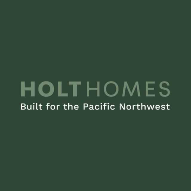 We're so excited to show you our new look! Deeply rooted in the local community, Holt Homes works every day to build affordable quality and lasting value into new homes for those who love living in the Pacific Northwest. #holthomesPNW  Find home - link in bio.🌲